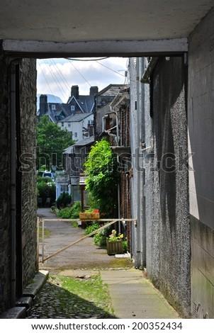 The Lake District, England - stock photo