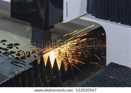 Laser Cutting Metal Stock Images Royalty Free Images