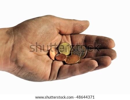 The last money - stock photo