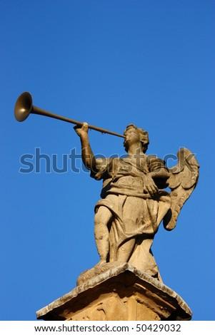 The Last Trumpet - stock photo