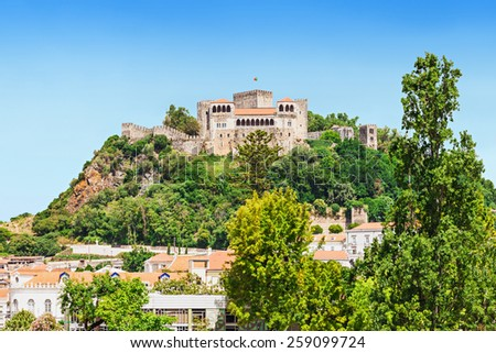 The Leiria Castle is a castle in the city Leiria in Portugal