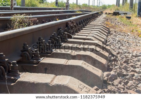 stock-photo-the-length-of-the-railway-tr