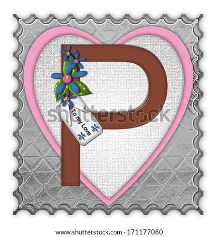 P Alphabet In Love the letter p in the alphabet