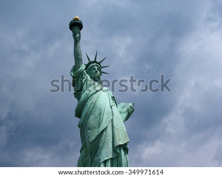 The liberty statue in New York 2