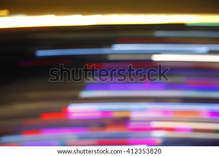 The light in the dark, the abstract background