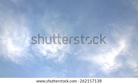 The light is in the cloud - stock photo
