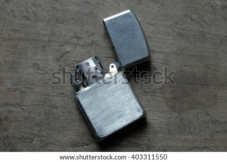 The lighters has many kind which one is useful you can select. Most men will bring lighters for smoking and to do something. It easy to use. - stock photo