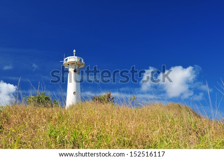 The lighthouse on the hill