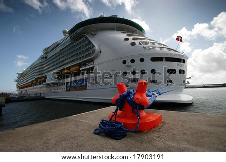 The liner - stock photo