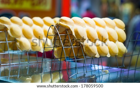 the local refreshment specialities in china - stock photo