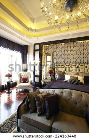 The luxurious interior design - stock photo