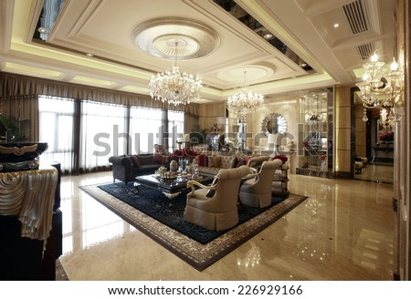 Luxurious Interior Design Luxurious Interior Design Stock Photo 226929166 Shutterstock