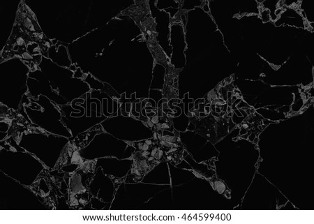 The luxury of black marble texture and background for design pattern artwork.