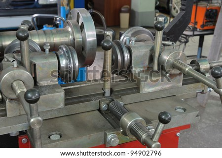 The machine tool for repair of automobile wheels