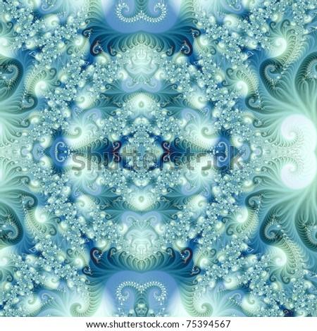 The magic  fractal - stock photo
