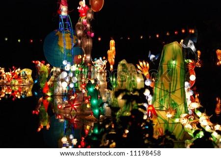 The Magic of Lanterns 2007 - stock photo