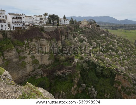 The majestic town of Ronda retains much of its historic charm.
