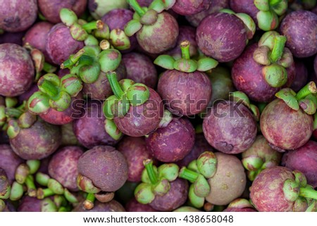 The mangosteen fruit rind is purple.The Express Mangosteen is white.
