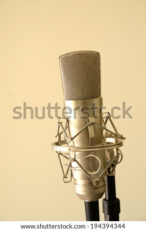 The Mic Is Yours  - stock photo