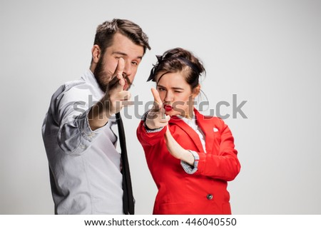 The militant business man and woman