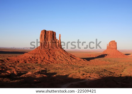 The Mittens, Arizona, Monument Valley, USA