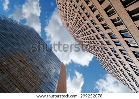 The modern architecture - stock photo