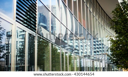 The modern building of the lujiazui financial centre in Milan Italy - stock photo