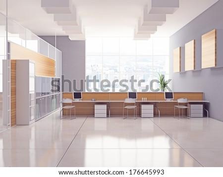 The Modern Office Interior Design