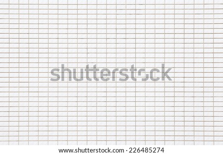 The modern white concrete tile wall background   - stock photo