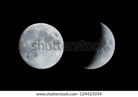 The Moon - stock photo