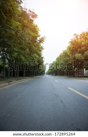 The morning of the highway, Chinese Central