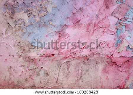 the multi-colored plaster a wall - texture and background image - stock photo