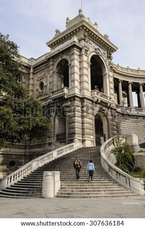 The Musee des beaux-arts de Marseille is one of the main museums in the city of Marseille, in the Provence-Alpes-C�´te d'Azur region.   - stock photo