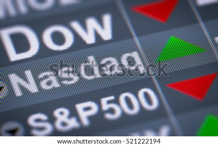 The National Association of Securities Dealers Automated Quotation is an American stock exchange. Up.