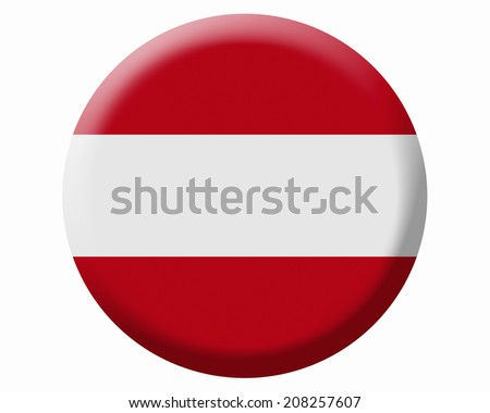 The National Flag Of Austria