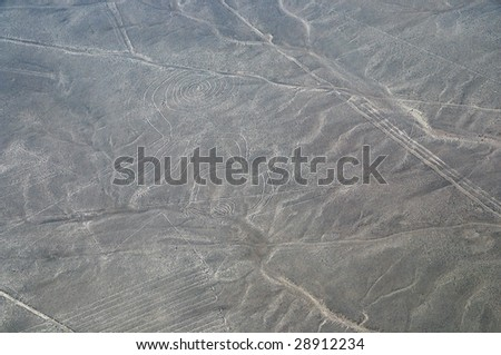 The Nazca Lines - The monkey - Unesco world heritage site