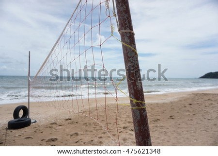 The Net, net for beach volleyball