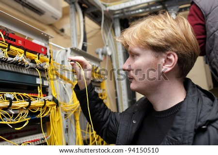 The network engineer working at a FOCL site
