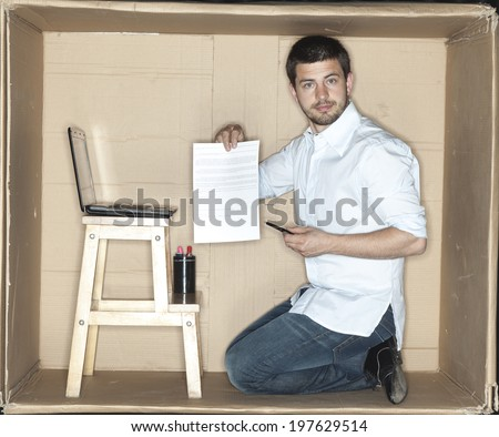 The new agreement for the employee - stock photo