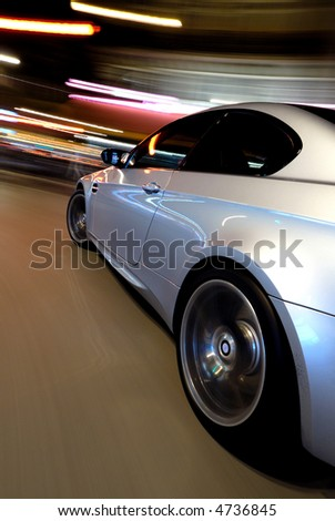The new BMW M3 V8 - stock photo