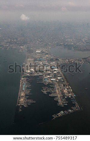 the new estuary port of north jakarta