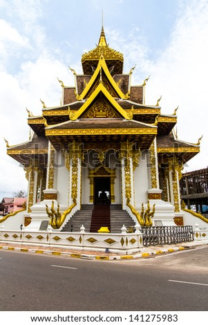 The New Vientiane city pillar shrine, Vientiane, Laos