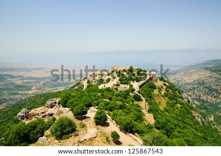 The Nimrod Fortress(Mivtzar Nimrod) is a medieval fortress situated in the northern Golan Heights, Israel.