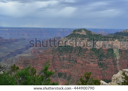 The North of the Grand Canyon in Arizona, America.