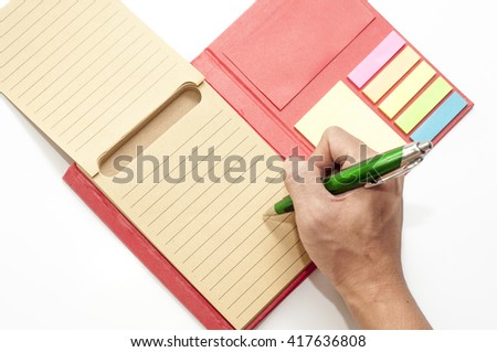 The note and reminder conceptual. empty space for notes.  - stock photo