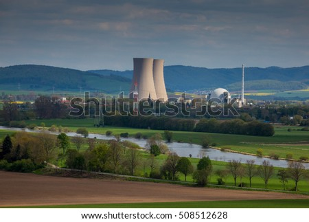 The nuclear power plant of Lower Saxony , in Germany