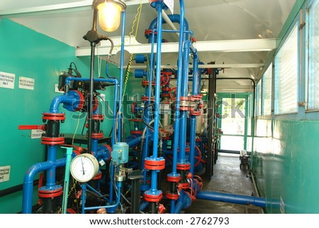 the oil equipment