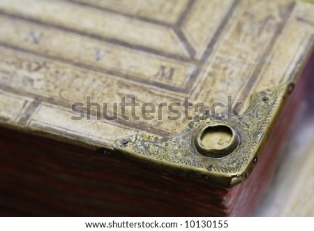 The old book. The old manuscript - stock photo