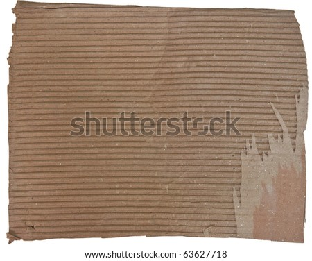 The Old brown paper - stock photo