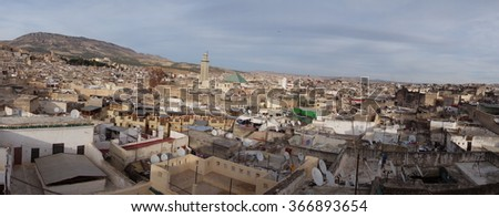 The old city of Fez